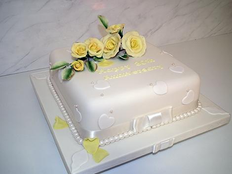 Anniversary cakes Wales Anniversary cakes Bridgend ...